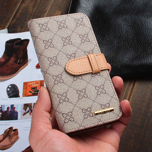 RAYTOP  Brown PU Leather Wallet Case With Kickstand For Samsung Galaxy S6