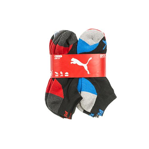 Men's Assorted Puma Socks (6 Pack)