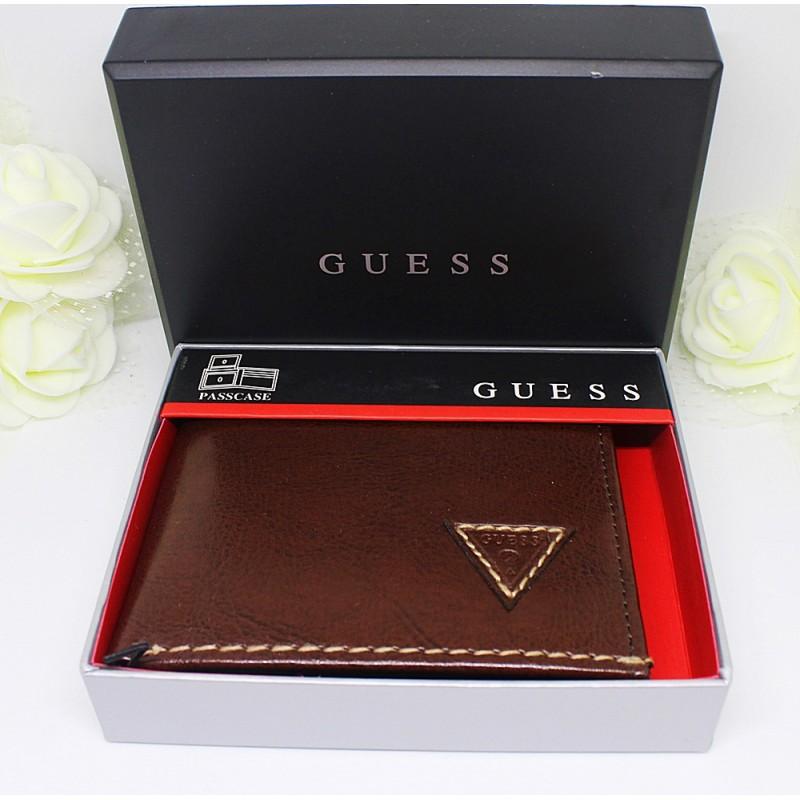Guess Men's Passcase (Brown)