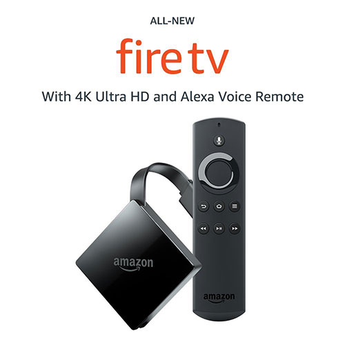 Fire TV With 4K Ultra HD Streaming Media Player