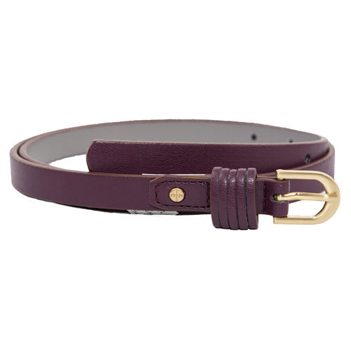 Burgundy Ladies Belt By Kenneth Cole Reaction