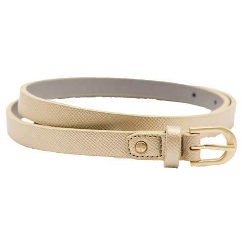 Light Gold Ladies Belt By Kenneth Cole Reaction