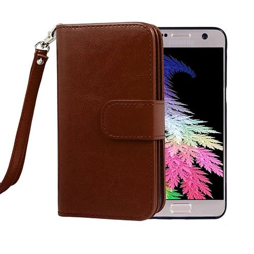 Crossspace® Leather Flip Wallet Phone Case