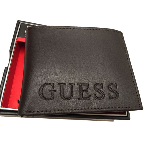 Guess Men's Passcase (Brown)