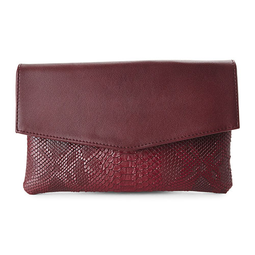 Urban Expressions Clutch (Snakeskin)