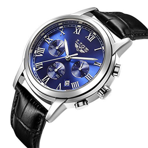 Men's Chronograph Waterproof Sport Wristwatch