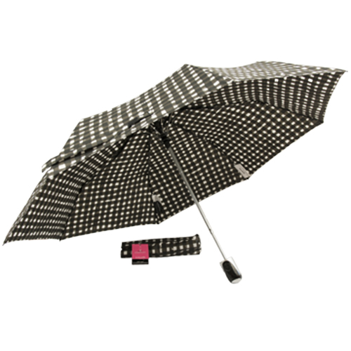 Ladies Rain Essentials Umbrella (Checkered)