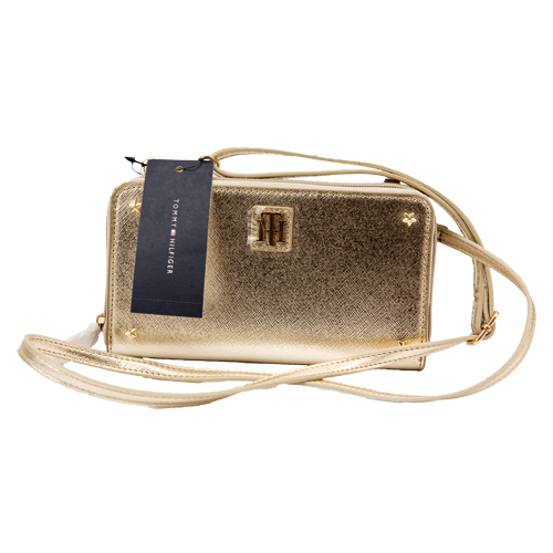 Ladies Wallet By Tommy Hilfiger (Gold)